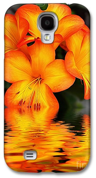 Golden Dreams Galaxy S4 Case by Kaye Menner