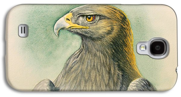 Eagle Galaxy S4 Case - Golden Eagle Portrait by Paul Krapf