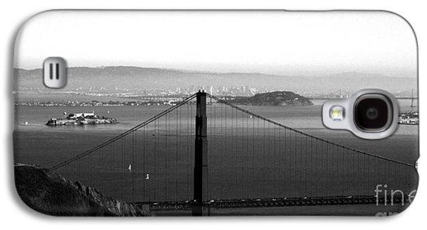 Golden Gate And Bay Bridges Galaxy S4 Case by Linda Woods