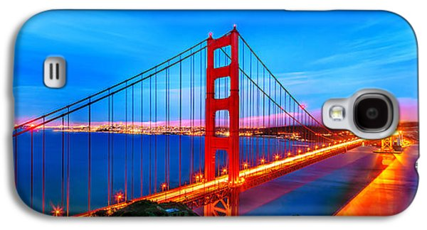 International Travel Galaxy S4 Case - Follow The Golden Trail by Az Jackson