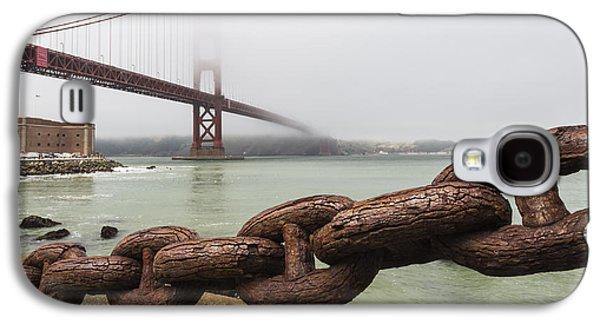 Golden Gate Bridge Chain Galaxy S4 Case by Adam Romanowicz