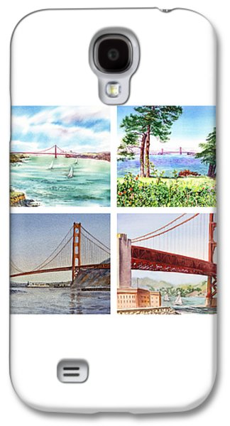 Golden Gate Bridge San Francisco California Galaxy S4 Case by Irina Sztukowski