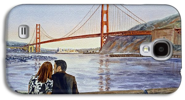 Golden Gate Bridge San Francisco - Two Love Birds Galaxy S4 Case