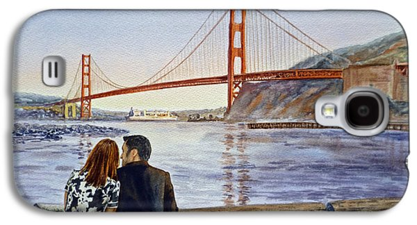 Golden Gate Bridge San Francisco - Two Love Birds Galaxy S4 Case