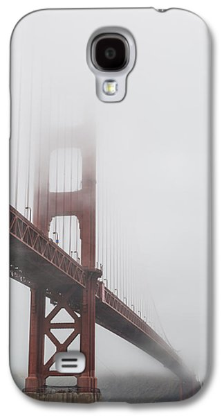Golden Gate Bridge Shrouded In Fog Galaxy S4 Case by Adam Romanowicz