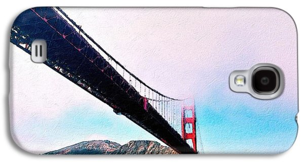 Golden Gate In The Clouds Galaxy S4 Case by Florian Rodarte