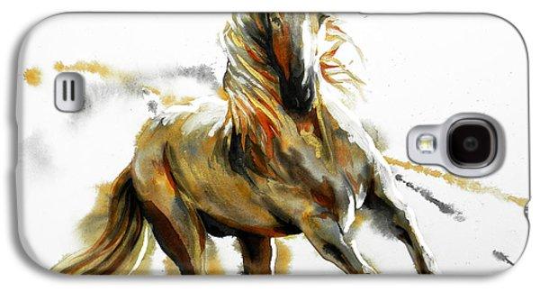 Dorado In White Galaxy S4 Case
