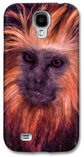 Golden Lion Tamarin Galaxy S4 Case by Liz Leyden
