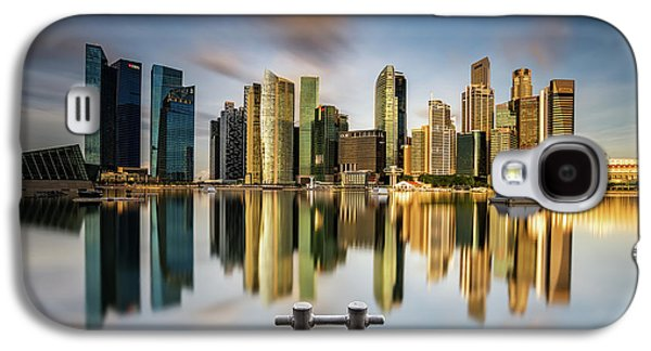 Golden Morning In Singapore Galaxy S4 Case