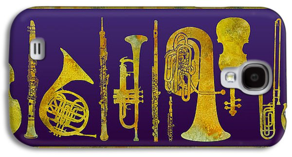 Golden Orchestra Galaxy S4 Case by Jenny Armitage