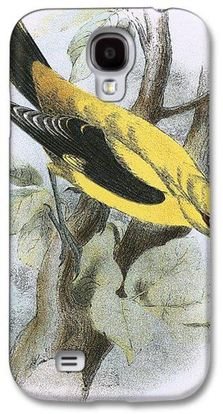 Golden Oriole Galaxy S4 Case