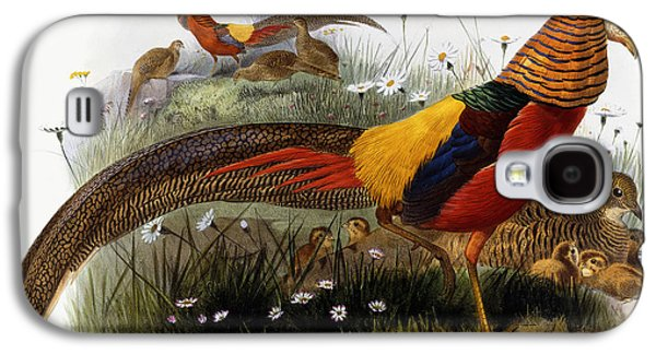 Golden Pheasants Galaxy S4 Case
