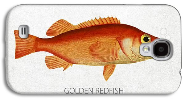 Golden Redfish Galaxy S4 Case