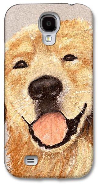 Golden Retriever Galaxy S4 Case by Anastasiya Malakhova