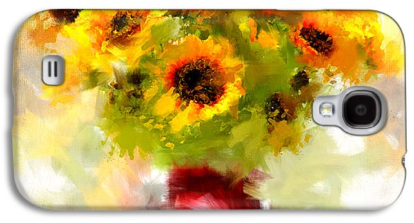 Golden Suns Galaxy S4 Case