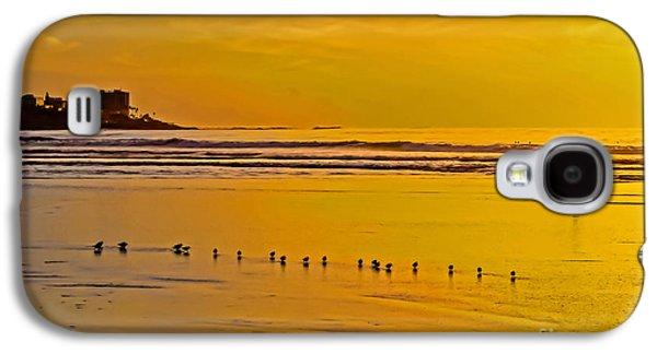 Golden Surf Galaxy S4 Case by Keith Ducker