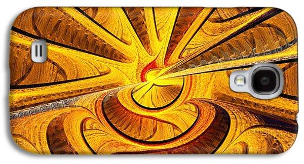 Golden Touch Galaxy S4 Case by Anastasiya Malakhova