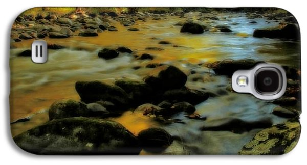 Golden View Of The Little River In Autumn Galaxy S4 Case by Dan Sproul