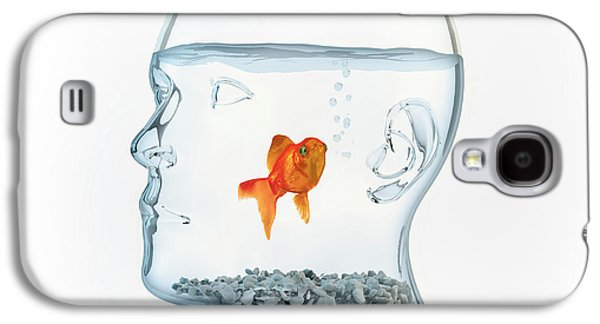 Goldfish In A Bowl Galaxy S4 Case by Andrzej Wojcicki