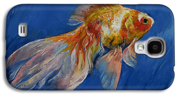 Goldfish Galaxy S4 Case by Michael Creese