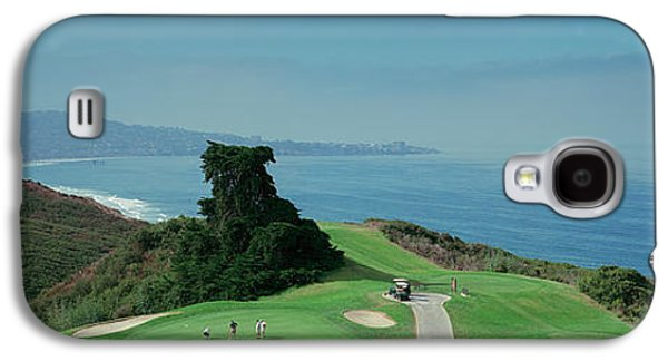 Golf Course At The Coast, Torrey Pines Galaxy S4 Case by Panoramic Images