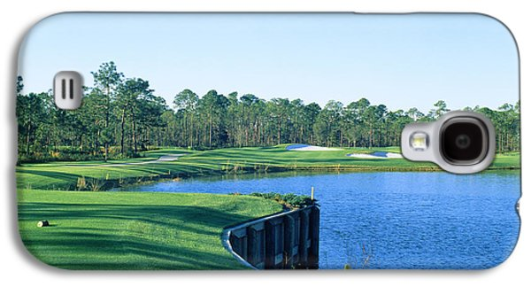 Golf Course At The Lakeside, Regatta Galaxy S4 Case by Panoramic Images