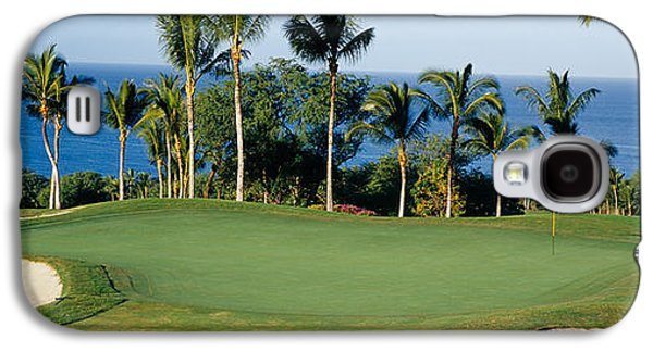 Golf Course Maui Hi Galaxy S4 Case by Panoramic Images