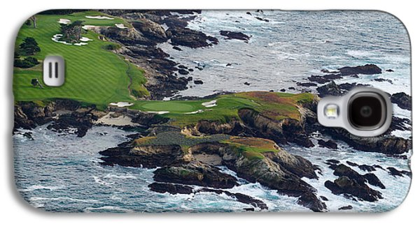 Golf Course On An Island, Pebble Beach Galaxy S4 Case by Panoramic Images