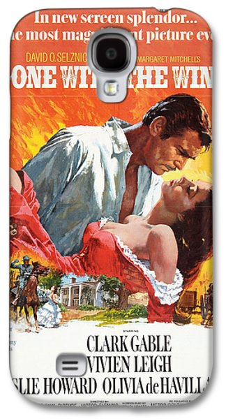 Gone With The Wind - 1939 Galaxy S4 Case by Georgia Fowler