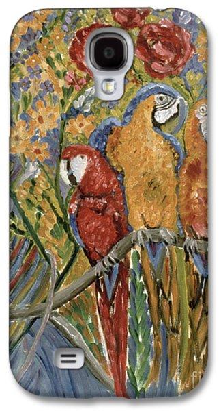 Good Gossip Galaxy S4 Case by Patricia Eyre