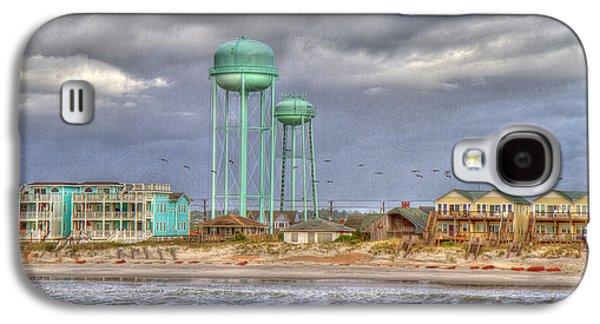 Good Morning Topsail Island Galaxy S4 Case by Betsy Knapp