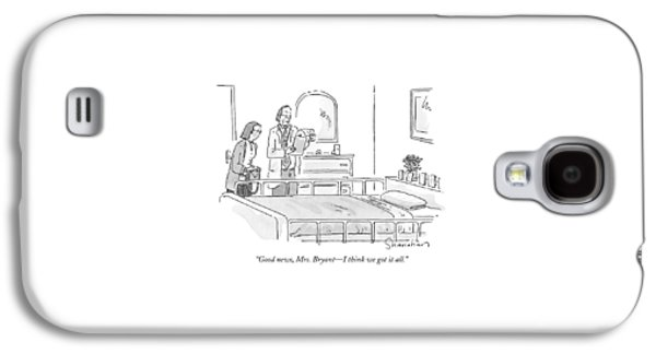 Good News, Mrs. Bryant - I Think We Got It All Galaxy S4 Case by Danny Shanahan