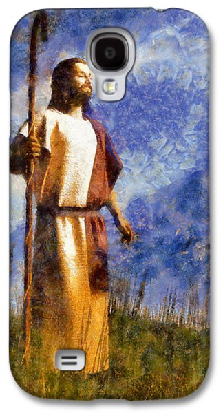 Good Shepherd Galaxy S4 Case by Christian Art