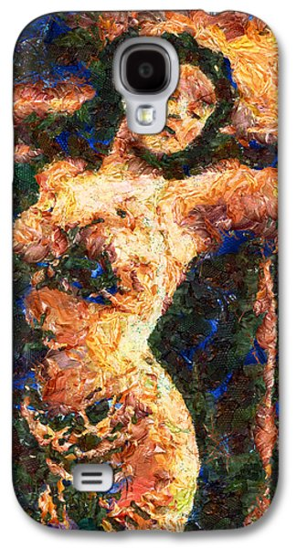 Good Time Girl - Abstract Expressionism Galaxy S4 Case