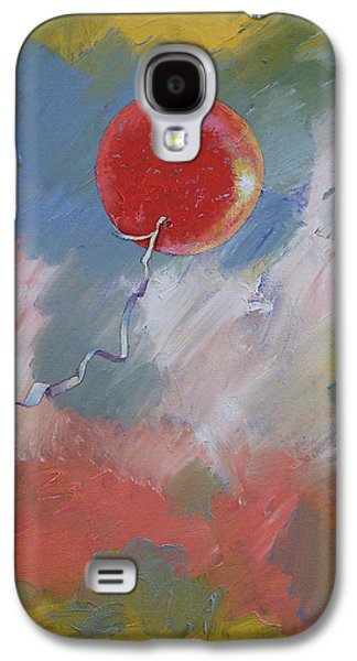 Goodbye Red Balloon Galaxy S4 Case by Michael Creese