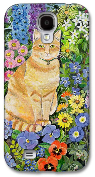 Snake Galaxy S4 Case - Gordon S Cat by Hilary Jones