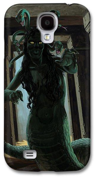 Gorgon Medusa Galaxy S4 Case by Martin Davey