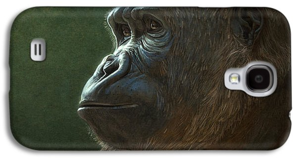Gorilla Galaxy S4 Case by Aaron Blaise