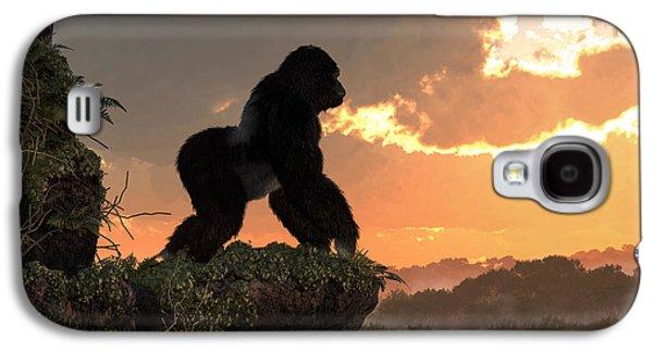Gorilla Sunset Galaxy S4 Case