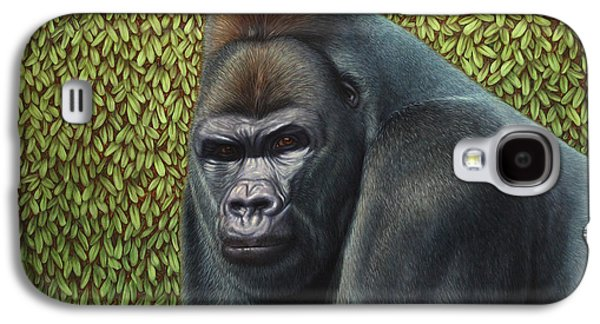 Gorilla With A Hedge Galaxy S4 Case