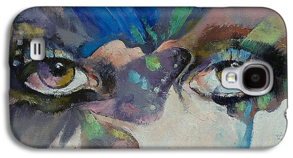Gothic Butterflies Galaxy S4 Case by Michael Creese