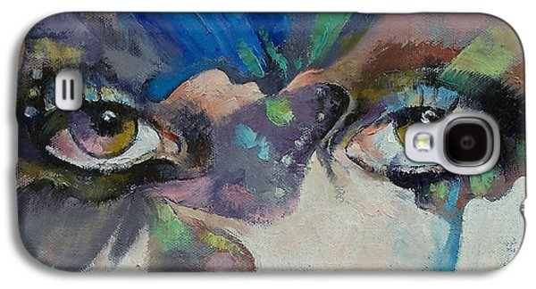 Surrealism Galaxy S4 Case - Gothic Butterflies by Michael Creese