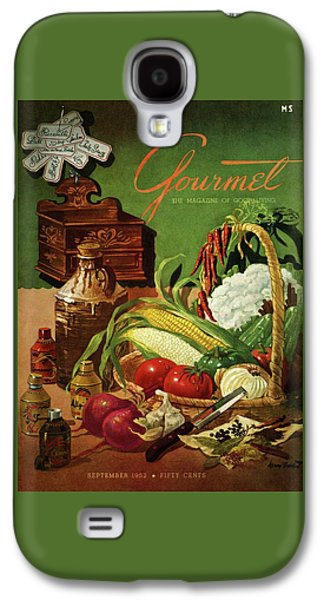 Gourmet Cover Featuring A Variety Of Vegetables Galaxy S4 Case by Henry Stahlhut