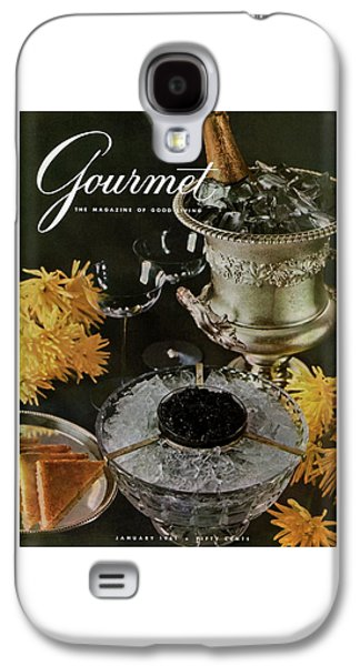 Gourmet Cover Featuring A Wine Cooler Galaxy S4 Case