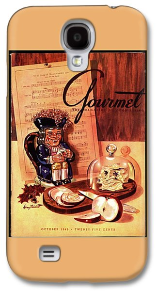 Gourmet Cover Illustration Of A Tray Of Cheese Galaxy S4 Case
