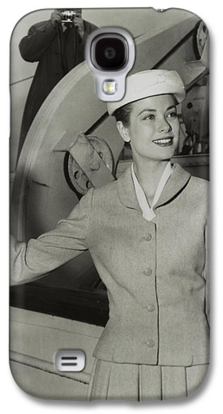 Grace Kelly In 1956 Galaxy S4 Case by Mountain Dreams