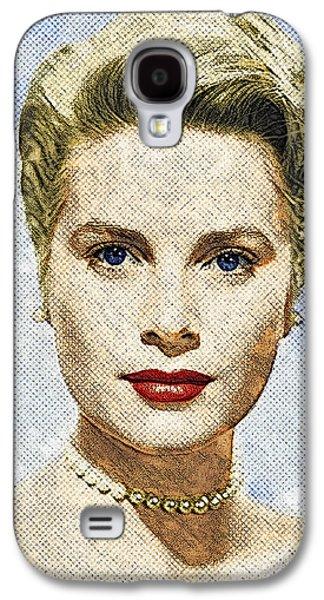 Grace Kelly Galaxy S4 Case - Grace Kelly by Zapista