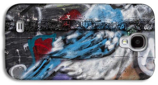 Graffiti Bluejay Galaxy S4 Case