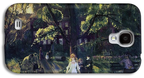 Gramercy Park Galaxy S4 Case by George Wesley Bellows