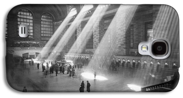 Grand Central Station Sunbeams Galaxy S4 Case